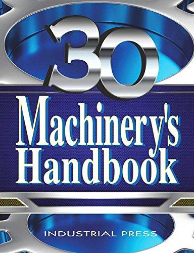 Machinery's Handbook, Large Print, Hardcover, Thirtieth Edition by Oberg, Erik