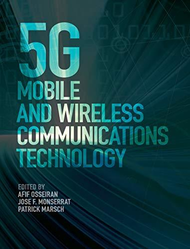 5G Mobile and Wireless Communications Technology, Hardcover, 1 Edition by Osseiran, Afif