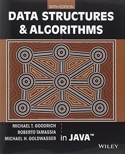 Data Structures and Algorithms in Java, Paperback, 6 Edition by Goodrich, Michael T.