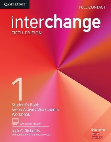 Interchange Level 1 Full Contact with Online Self-Study, Paperback, 5 Edition by Richards, Jack C.