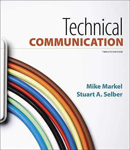 Technical Communication, Paperback, Twelfth Edition by Markel, Mike