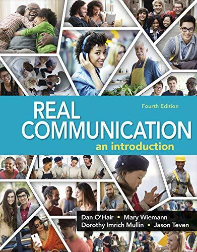 Real Communication, Paperback, Fourth Edition by O'Hair, Dan