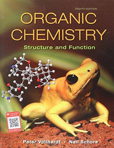 Organic Chemistry: Structure and Function, Hardcover, Eighth Edition by Vollhardt, K. Peter C.