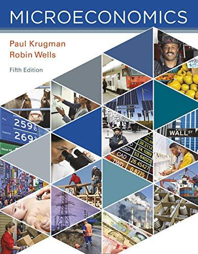 Microeconomics, Paperback, Fifth Edition by Krugman, Paul