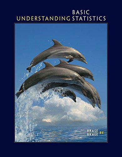 Understanding Basic Statistics, Paperback, 8 Edition by Brase, Charles Henry