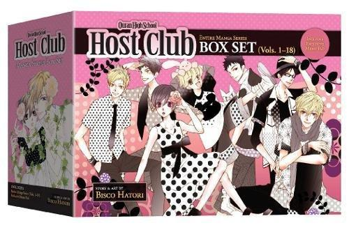 Ouran High School Host Club Box Set (Vol. 1-18), Paperback, Original Edition by Hatori, Bisco