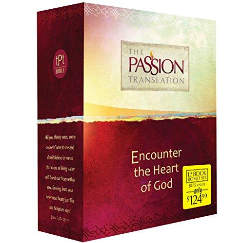 The Passion Translation 12-in-1 Collection: Encounter the Heart of God (Paperback) – A Beautiful Boxed Gift Set that is Perfect for Confirmation, Christmas, and More, Paperback by Simmons, Brian
