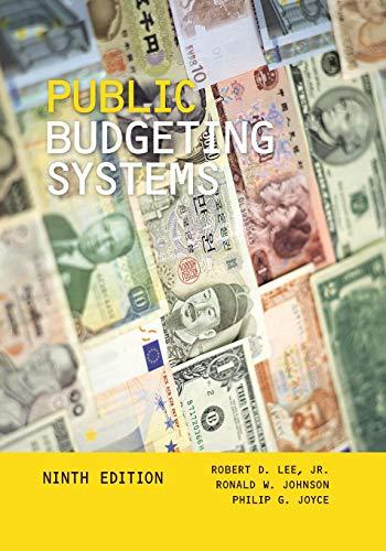 Public Budgeting Systems, Paperback, 9 Edition by Lee Jr., Robert D.