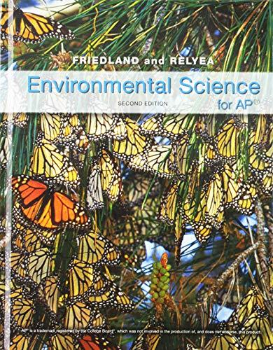 Environmental Science for AP, Hardcover, Second Edition by Friedland, Andrew
