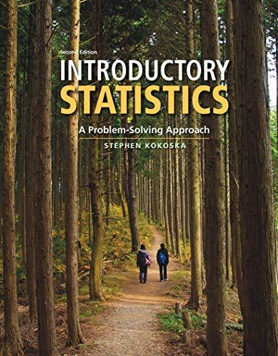 Introductory Statistics: A Problem Solving Approach, Hardcover, Second Edition by Kokoska, Stephen