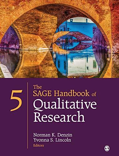 The SAGE Handbook of Qualitative Research, Hardcover, Fifth Edition by Denzin, Norman K.