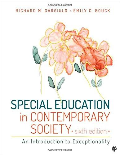 Special Education in Contemporary Society: An Introduction to Exceptionality, Paperback, 6 Edition by Gargiulo, Richard M.