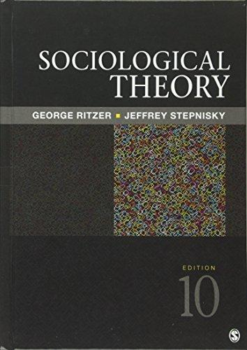 Sociological Theory, Hardcover, 10 Edition by Ritzer, George