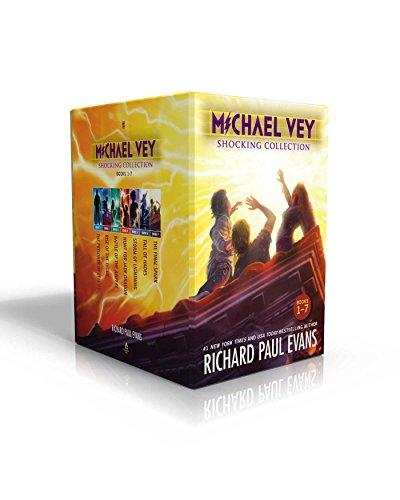 Michael Vey Shocking Collection Books 1-7: Michael Vey, Michael Vey 2, Michael Vey 3, Michael Vey 4, Michael Vey 5, Michael Vey 6, Michael Vey 7, Hardcover, Boxed Set Edition by Evans, Richard Paul
