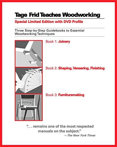 Tage Frid Teaches Woodworking: Three Step-by-Step Guidebooks to Essential Woodworking Techniques, Hardcover, Slp Har/Dv Edition by Frid, Tage