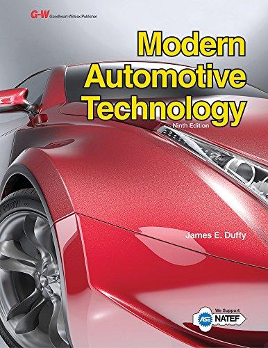 Modern Automotive Technology, Hardcover, Ninth Edition by Duffy, James E.