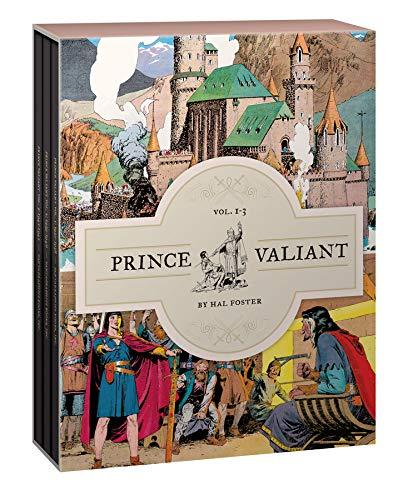 Prince Valiant Vols. 1-3: Gift Box Set (Vol. 1-3) (Prince Valiant), Paperback, 1 Edition by Foster, Hal