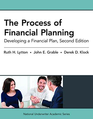 The Process of Financial Planning: Developing a Financial Plan, 2nd Edition (National Underwriter Academic), Paperback, 2 Edition by Lytton, Ruth H.