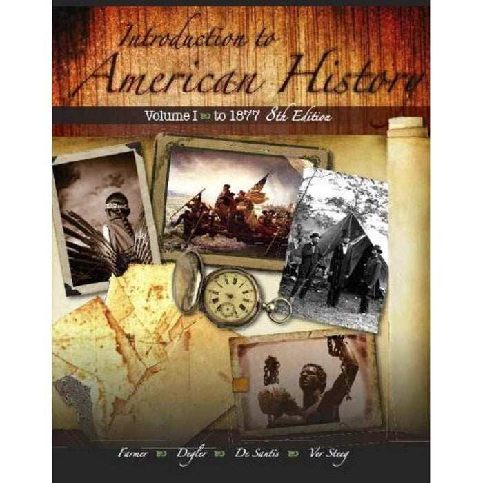 Introduction to American History Vol 2 8/e, Hardcover, 8th Edition by Brian Farmer