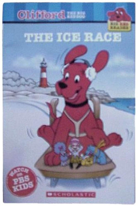 The Ice Race (Clifford the Big Red Dog) (Big Red Reader Series), Paperback by Apple Jordan (Used)