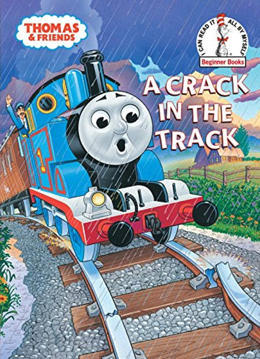 A Crack in the Track (Thomas & Friends) (Beginner Books(R)), Hardcover, 1st Edition by Awdry, W. Rev. (Used)