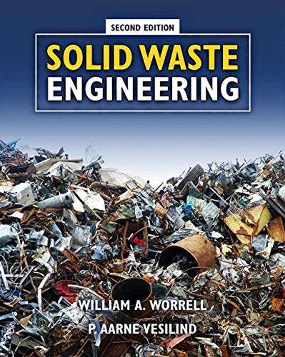 Solid Waste Engineering, Hardcover, 2 Edition by Worrell, William A. (Used)