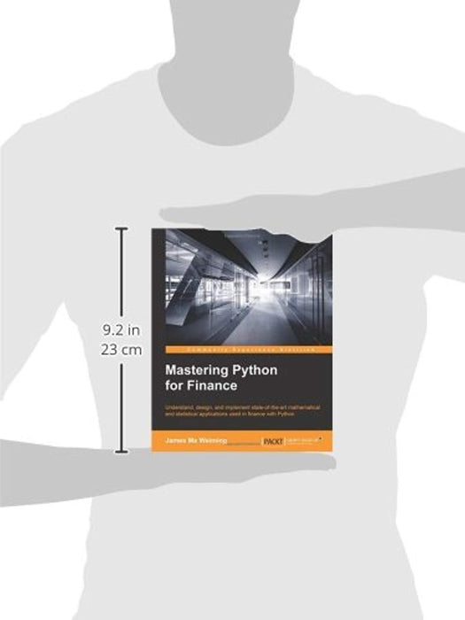 Mastering Python for Finance, Paperback by Weiming, James Ma (Used)