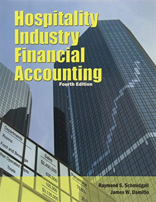 Hospitality Industry Financial Accounting with Answer Sheet (AHLEI) (4th Edition) (AHLEI - Hospitality Accounting / Financial Management), Paperback, 4 Edition by Schmidgall, Raymond S. (Used)