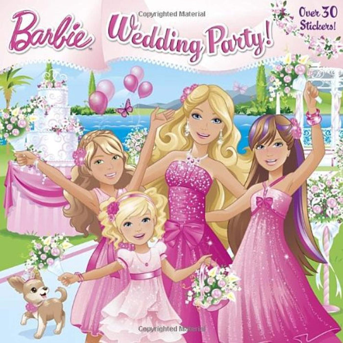 Wedding Party! (Barbie) (Pictureback(R)), Paperback by Man-Kong, Mary (Used)