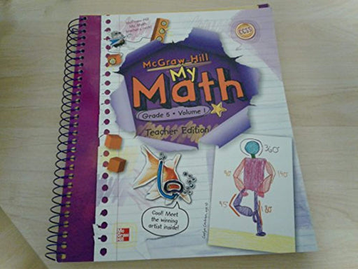 My Math, Vol. 1, Grade 5, Teacher Edition, Spiral-bound, Volume 1 Edition by carter (Used)