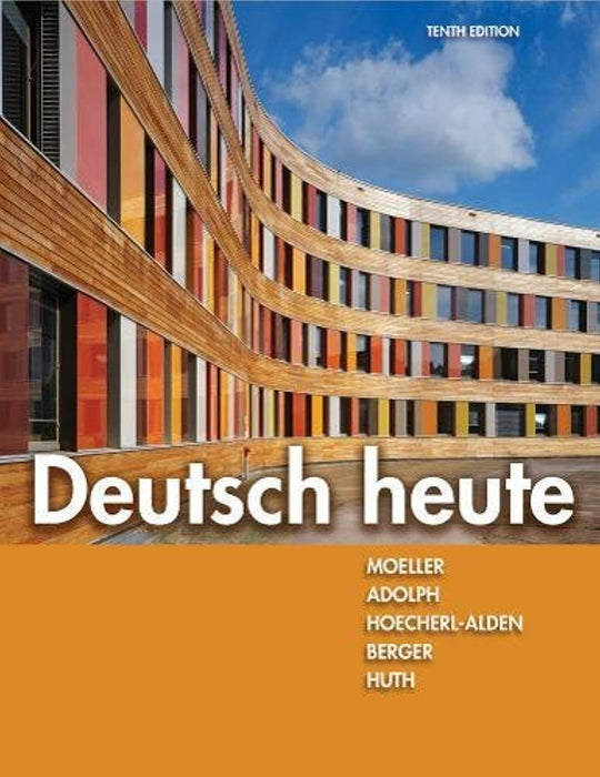 Deutsch heute, Paperback, 10 Edition by Moeller, Jack (Used)