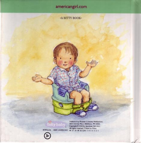 The Bitty Twins Use the Potty, Hardcover by Jennifer Hirsch (Used)