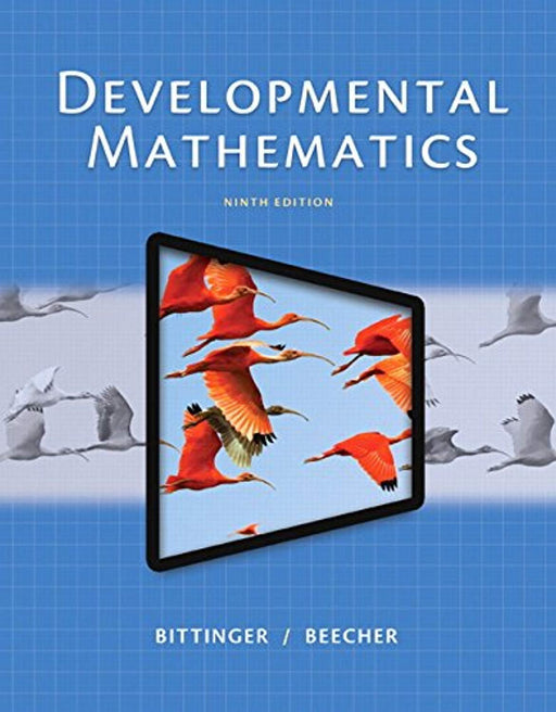 Developmental Mathematics Plus NEW MyLab Math with Pearson eText -- Access Card Package (9th Edition) (What's New in Developmental Math?), Paperback, 9 Edition by Bittinger, Marvin L. (Used)