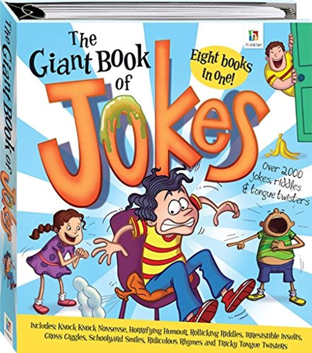 The Giant Book of Jokes Binder, Hardcover by School Zone Publishing (Used)