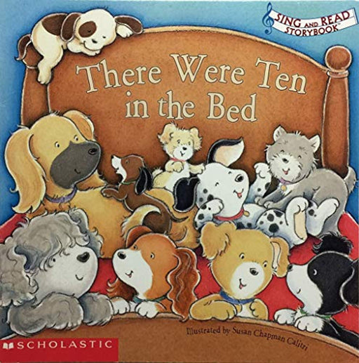 There were Ten in the Bed (Sing and Read Storybook), Paperback, 1st Edition by Susan Chapman Calitri (Used)