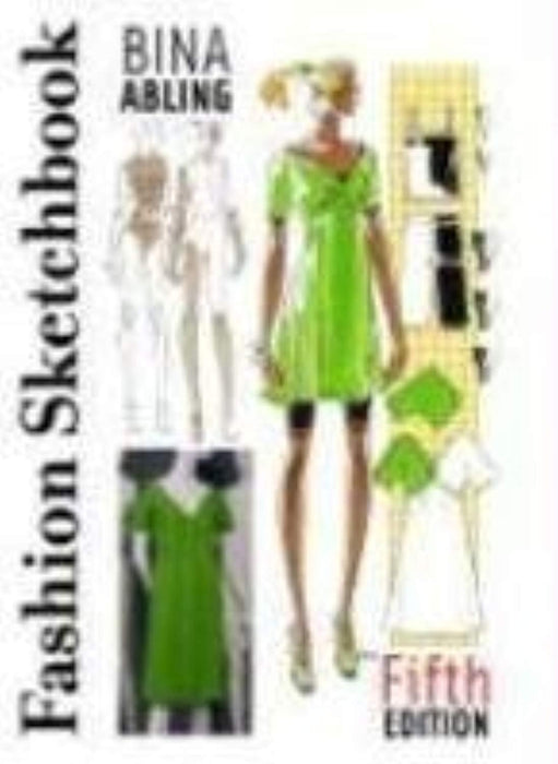 fashion-sketchbook, Paperback by bina-abling (Used)