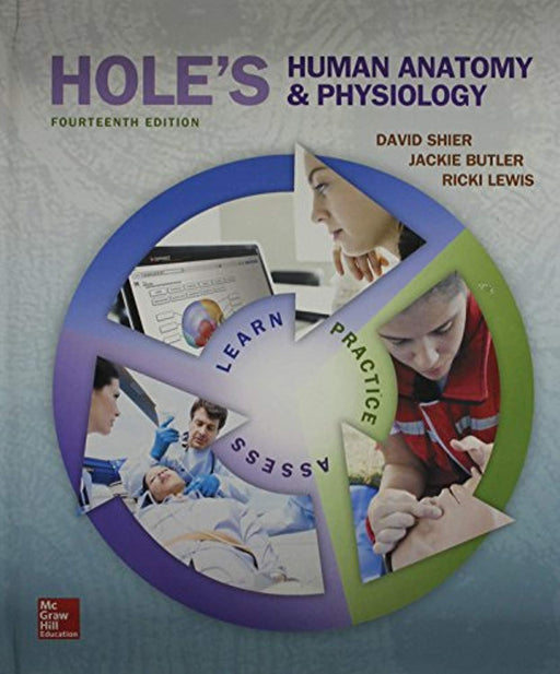 Combo: Hole's Human A&P with Connect Access Card, Hardcover, 14 Edition by Shier, David