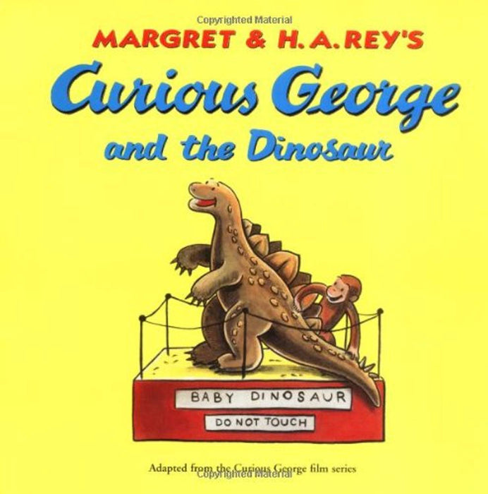 Curious George and the Dinosaur, Paperback by Rey, Margret (Used)