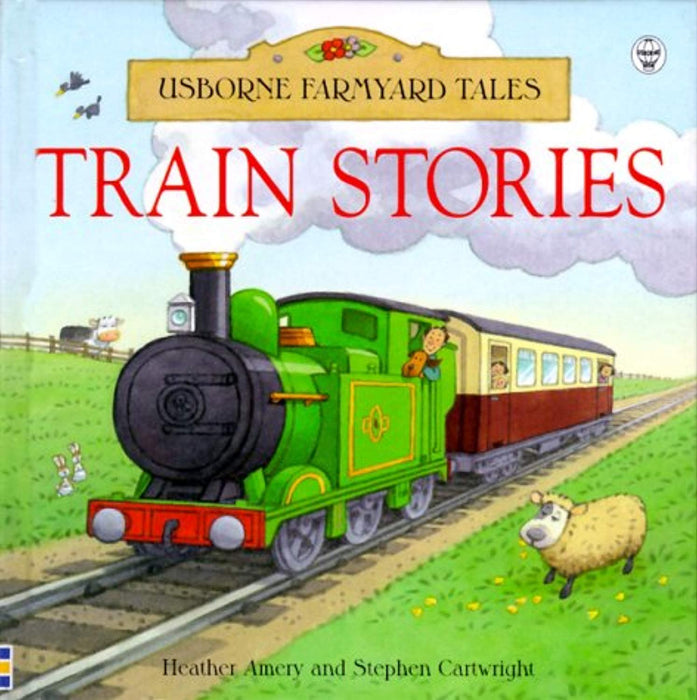 Train Stories (Usborne Farmyard Tales Readers), Hardcover by Amery, Heather (Used)