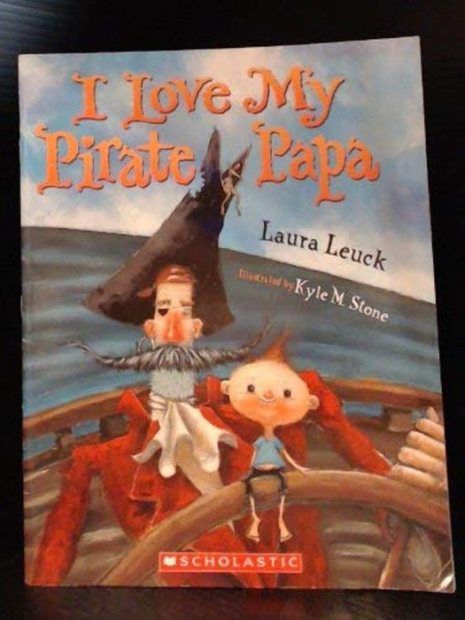 I Love My Pirate Papa, Paperback by Leuck, Laura (Used)