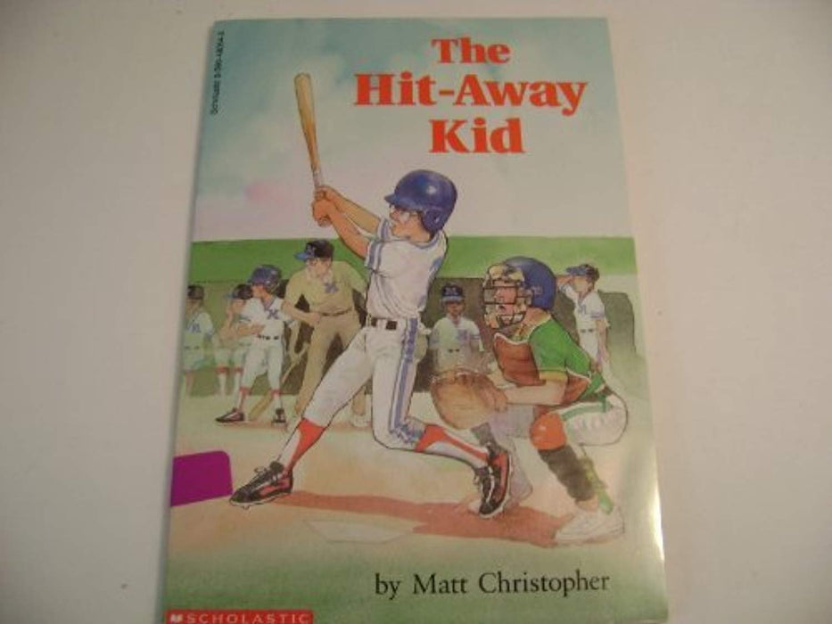 The hit-away kid, Paperback, First Edition by Christopher, Matt (Used)