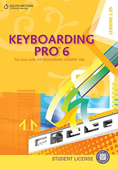 Keyboarding Pro 6, Student License (with User Guide and CD-ROM), CD-ROM, 6 Edition by VanHuss, Susie (Used)