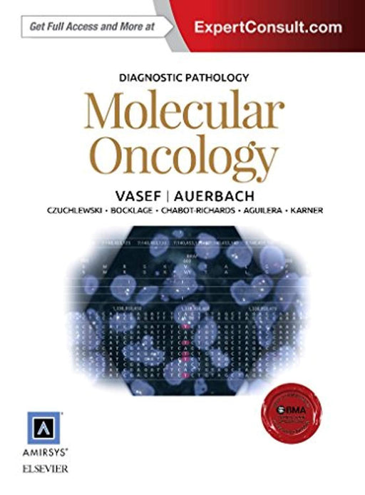Diagnostic Pathology: Molecular Oncology, Hardcover, 1 Edition by Vasef MD, Mohammad A. (Used)