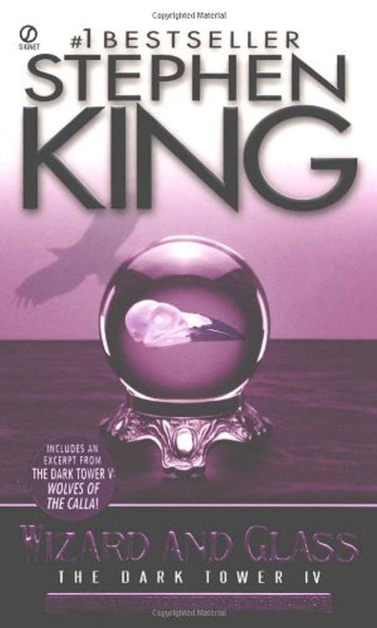 Wizard and Glass: (The Dark Tower #4)(Revised Edition), Mass Market Paperback, 0 Edition by King, Stephen (Used)