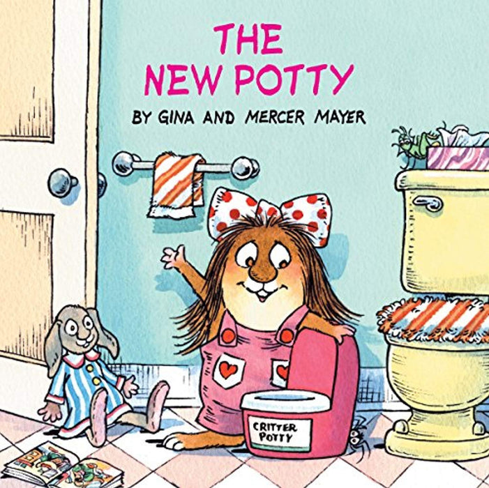 The New Potty (Little Critter) (Look-Look), Paperback, Illustrated Edition by Mayer, Mercer (Used)