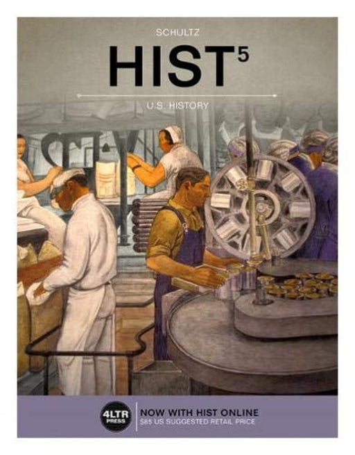 HIST, Comprehensive (with HIST Online, 2 term (12 months) Printed Access Card) (New, Engaging Titles from 4LTR Press), Paperback, 5 Edition by Schultz, Kevin M. (Used)