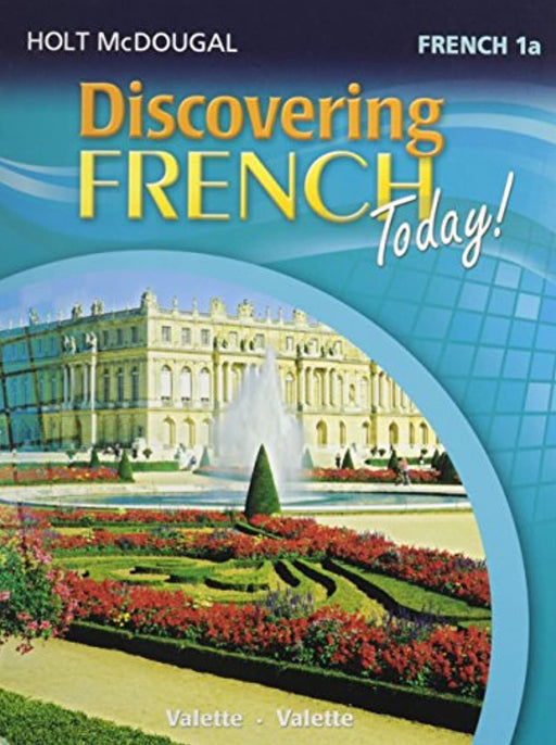 Discovering French Today: Student Edition Level 1A 2013 (French Edition), Hardcover, 1 Edition by HOLT MCDOUGAL