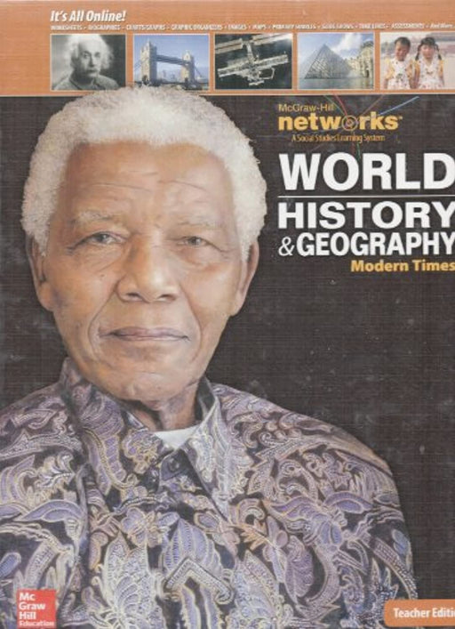 World History and Geography: Modern Times, Teacher Edition (HUMAN EXPERIENCE - MODERN ERA), Hardcover, 2 Edition by McGraw Hill (Used)
