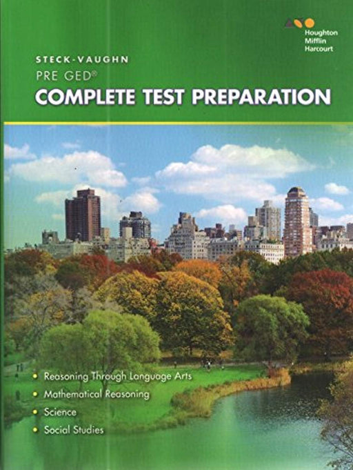 Steck-Vaughn Pre-GED: 2014 Complete Preparation, Paperback, 1 Edition by STECK-VAUGHN