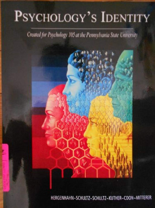 Psychology's Identity: Created for Psychology 105 at the Pennsylvania State University, Paperback by Dennis Coon (Used)